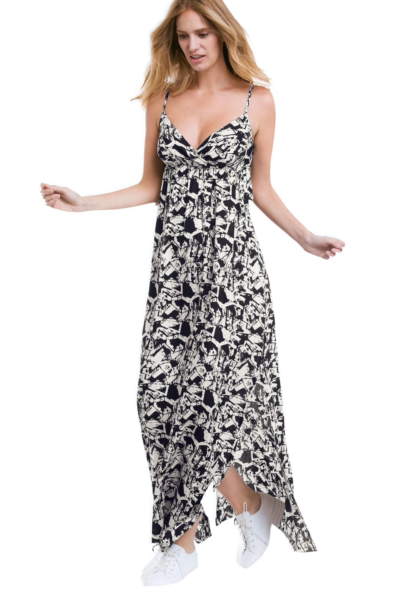 Plus Size Maxi Dresses Walmart | Saddha