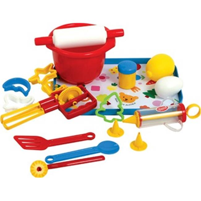 Get Ready 454-63 Gowi Toys 17 pc Baking Set