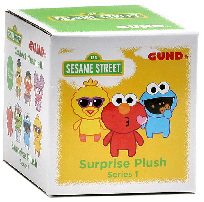 Sesame Street Surprise Plush Series 1 Mystery Pack