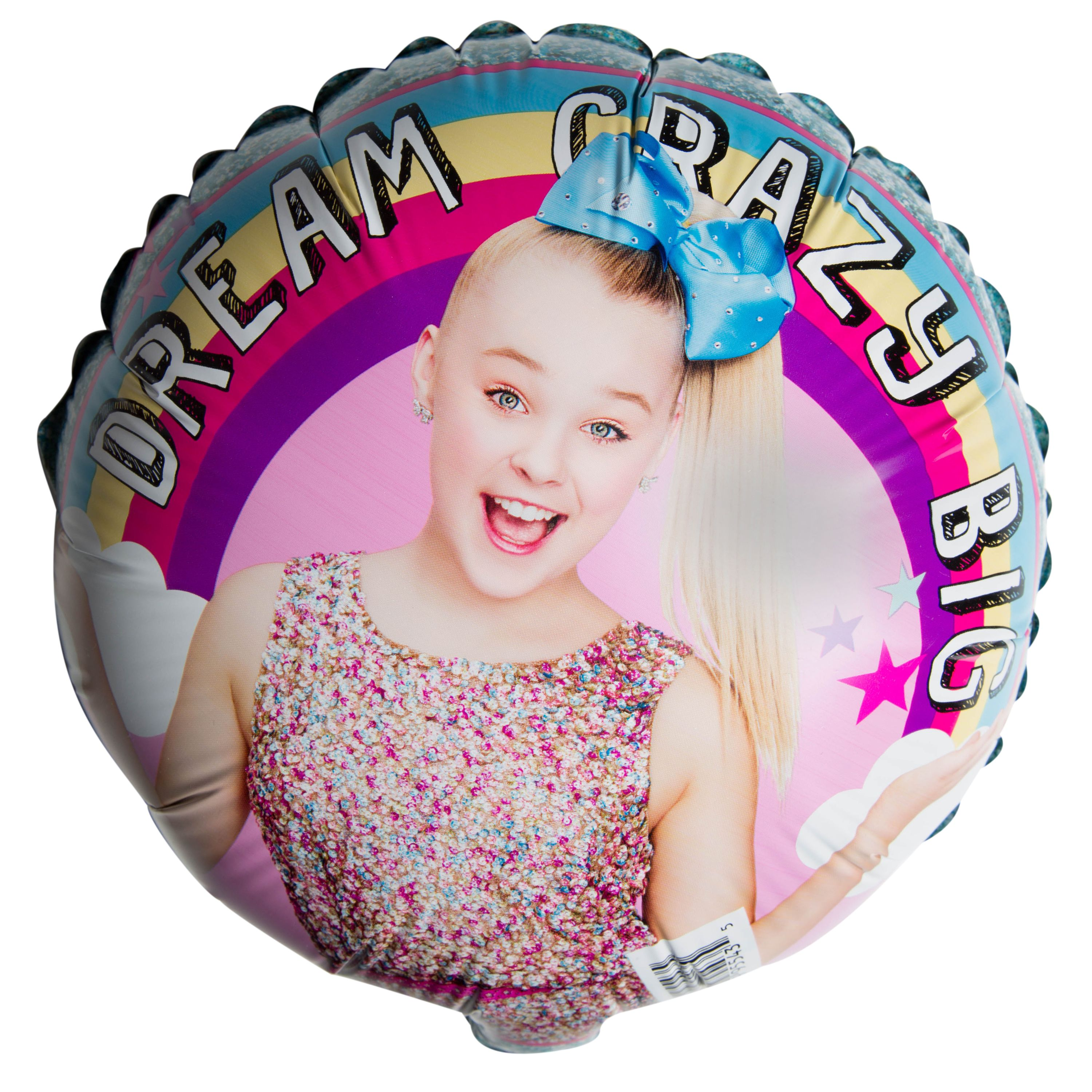 "JoJo Siwa Party 9"" Foil Dream Balloon with Stick"