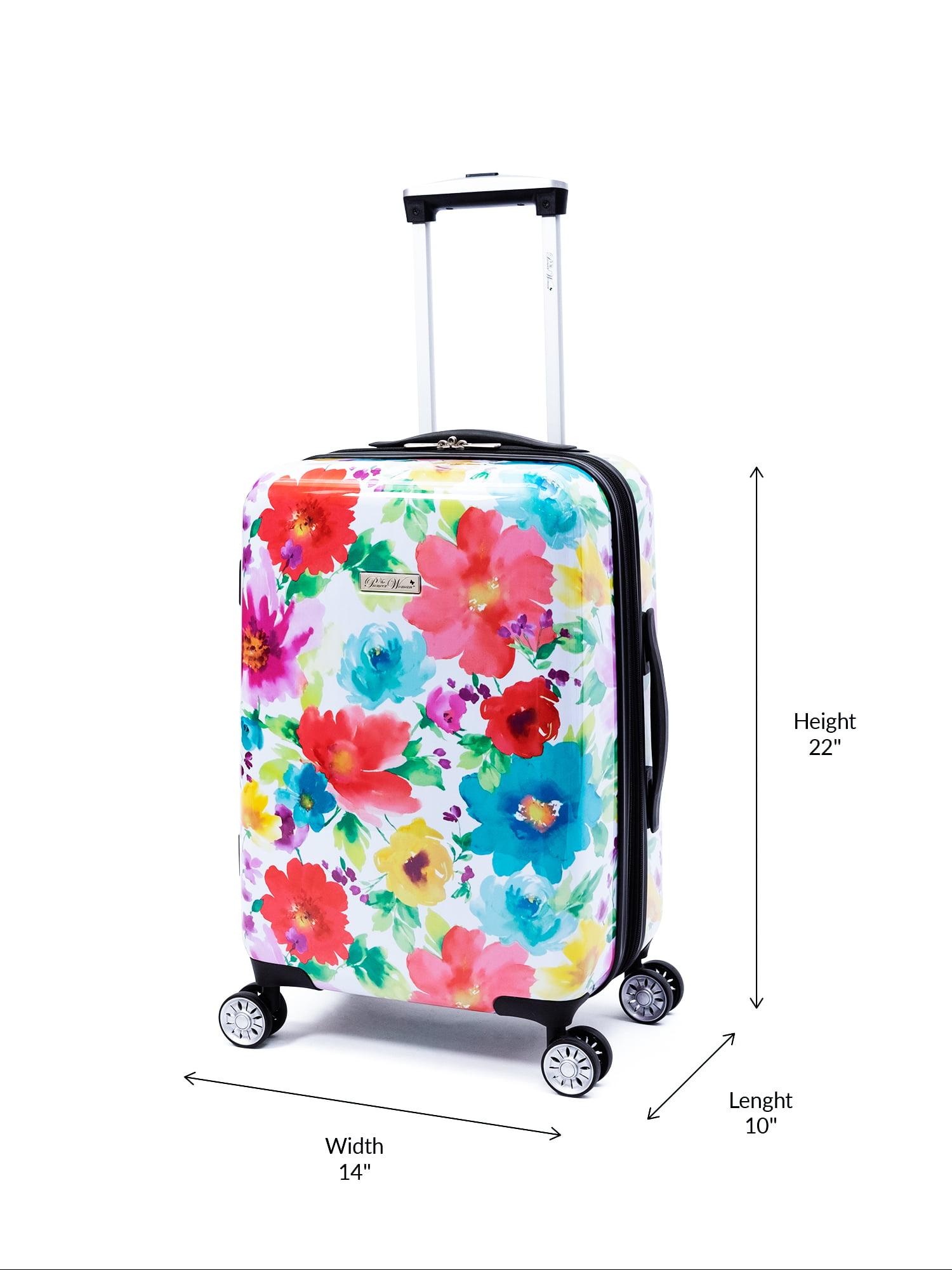 Portable Luggage Duffel Bag Swedish Folk Art Travel Bags Carry-on In Trolley Handle