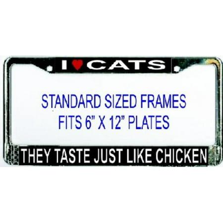 I Heart Cats They Taste Like Chicken Frame - image 2 de 2