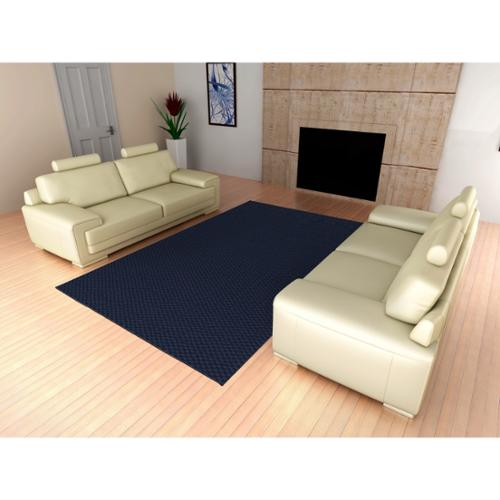 Somette  Signature Navy Area Rug (9' x 12')