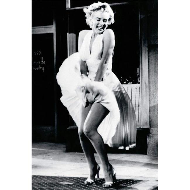 Hot Stuff 1993-24x36-MM Marilyn White Dress Poster