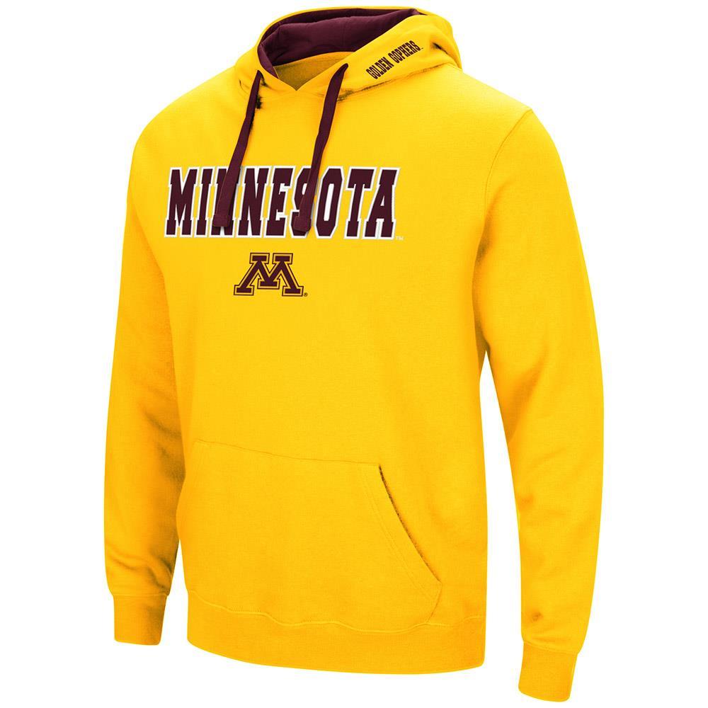Mens Minnesota Golden Gophers Pull-over Hoodie - S