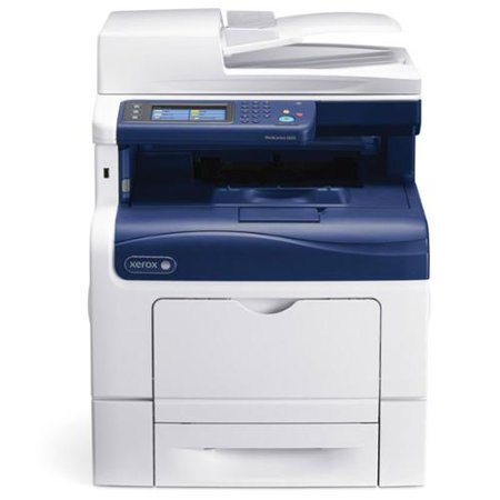 Xerox WorkCentre 6605DN Laser Multifunction Color Printer w  Duplex Printing by