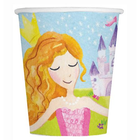 9oz Magical Princess Paper Cups, - Princess Cups