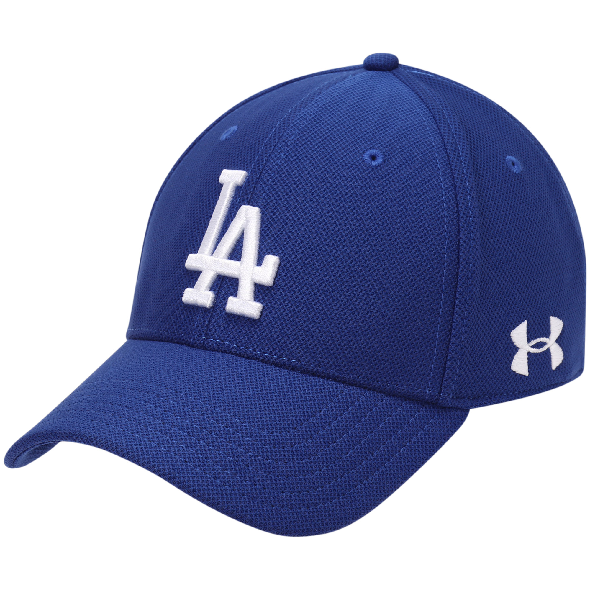 Los Angeles Dodgers Under Armour Blitzing Performance Adjustable Hat - Royal - OSFA