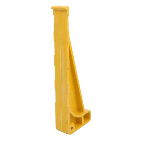 Unique Bargains 3Pcs High Strength FRP Cable Bracket 30cm Length Combined Type Yellow - image 1 of 3