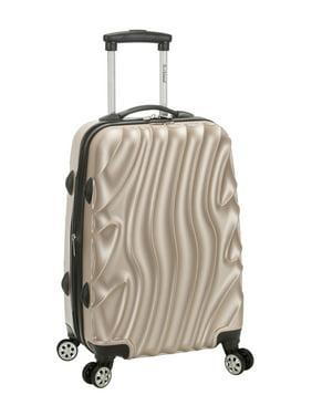 "Rockland Melbourne 20"" Hardside Expandable Carry On Luggage"
