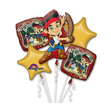 Jake and the Neverland Pirates Birthday Bouquet - Jake And The Neverland Pirates Table Decorations