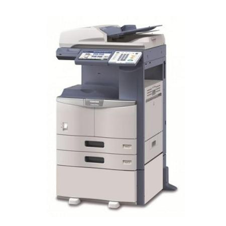 Refurbished Toshiba E-Studio 456 A3 Monochrome Laser Multifunction Copier - 45ppm, Copy, Print, Scan, Auto Duplex, Network-Ready, 2400 x 600 dpi, 2 Trays, (Toshiba E Studio 255 Call For Service)