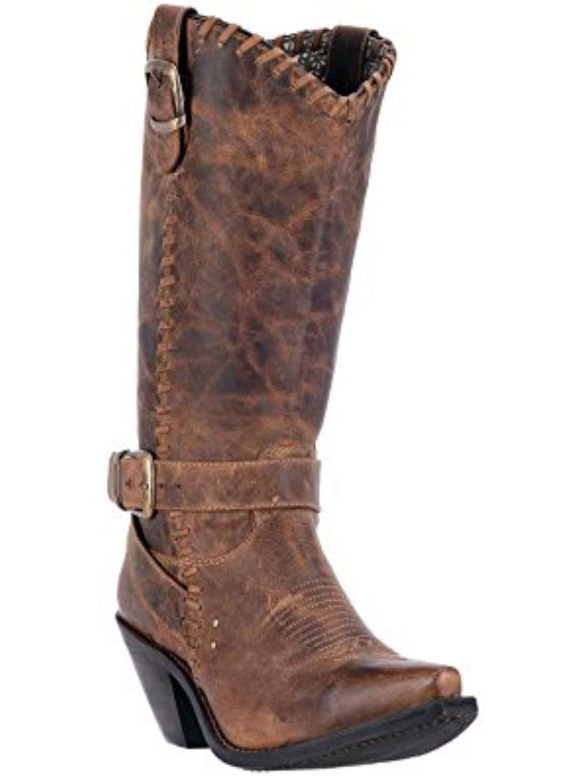 Dingo Loren Pointed Toe Leather Western Boot by Dingo