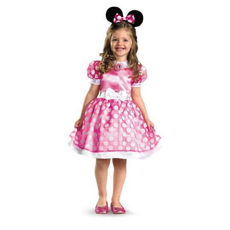 Pink Minnie Mouse Toddler Halloween - Christmas Minnie Mouse Costume