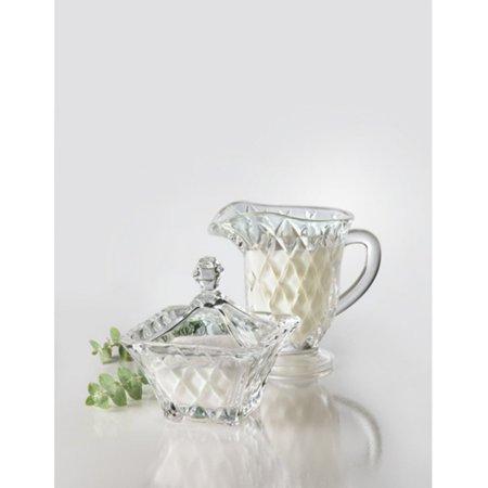 Versailles Sugar Bowl And Creamer Set