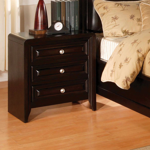 Hokku Designs Winsor 3 Drawer Nightstand