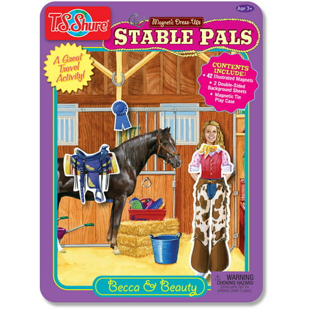 T.S. Shure Stable Pals Dress-Ups Magnetic Tin (Magnetic Fun Tin)