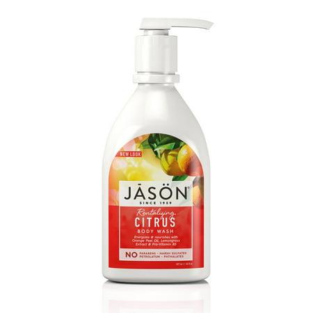 Jason Natural Products Essential Oils Body Wash (JASON Revitalizing Citrus Body Wash, 30 Fl)