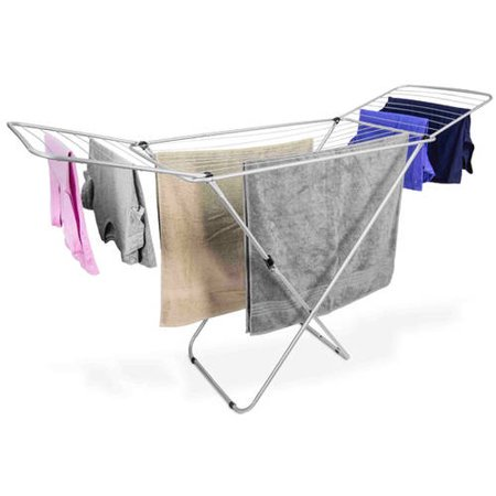 sale steel for htm inicretail stainless laundry foldable hanger cloth end rack p drying am clothes