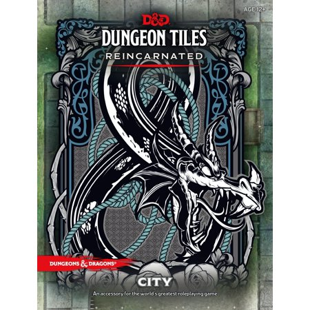 Dungeons & Dragons: D&D Dungeon Tiles Reincarnated - City
