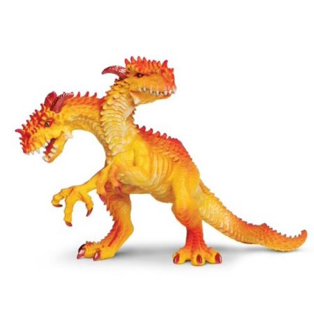 Hand Painted 4 1/2' King - Safari Ltd Dragon's Collection - Dragon King - Realistic Hand Painted Toy Figurine Model - Quality Construction from Safe and BPA Free Materials - For Ages 4 and Up