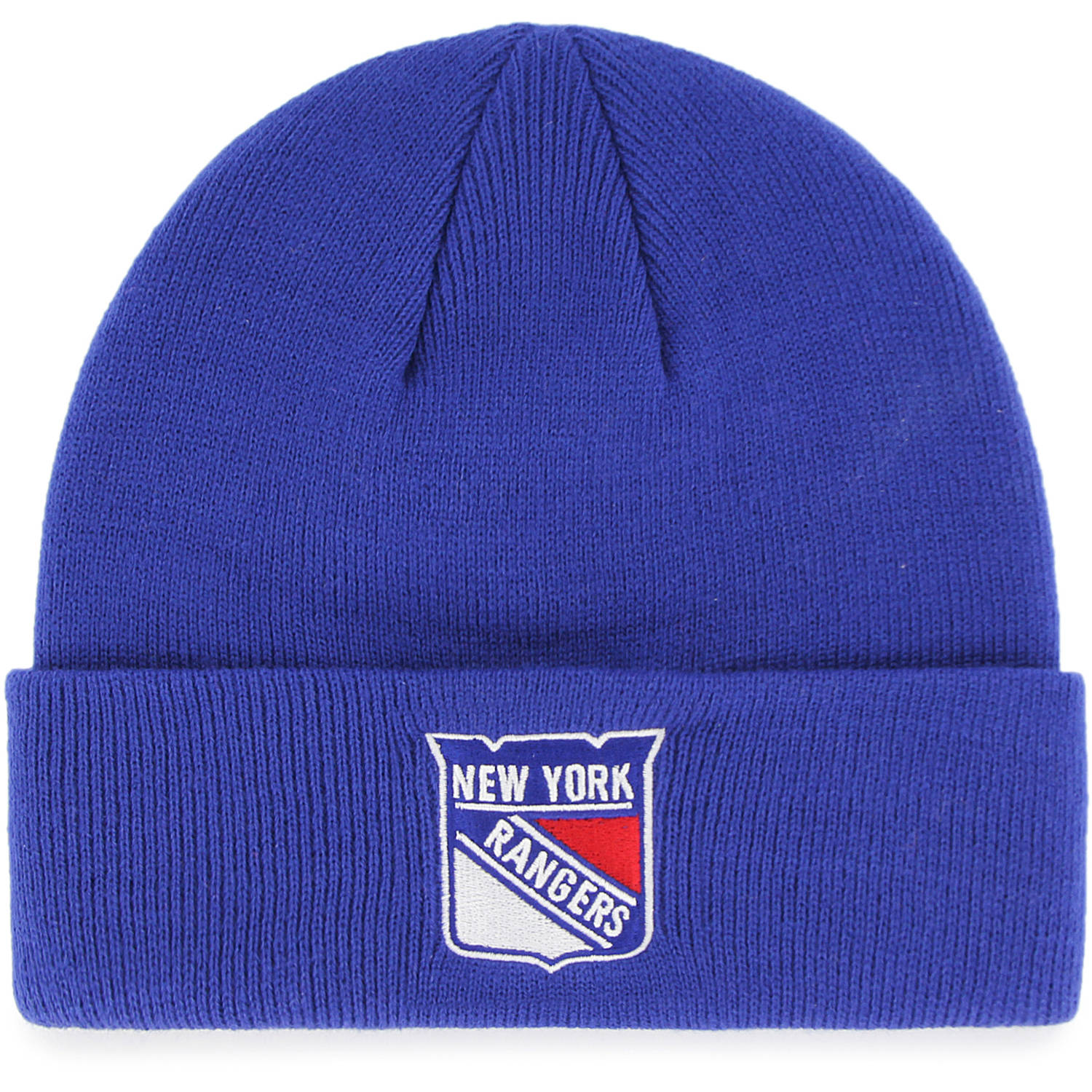 NHL New York Rangers Mass Cuff Knit Cap - Fan Favorite