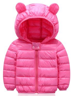 Toddler Kids Boy's Girl's Winter Warm Hooded Down Snowsuit Coat