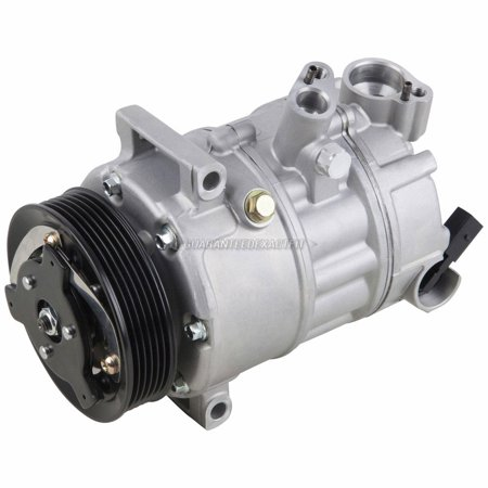 For VW Golf GTI Jetta Passat CC New Beetle Eos Tiguan AC Compressor & A/C Clutch (Vw Ac Compressor)