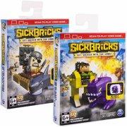 Sick Bricks Big Sick Character Pack, Heroes vs. Monsters