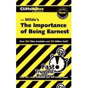 CliffsNotes on Wilde's The Importance of Being Earnest - eBook