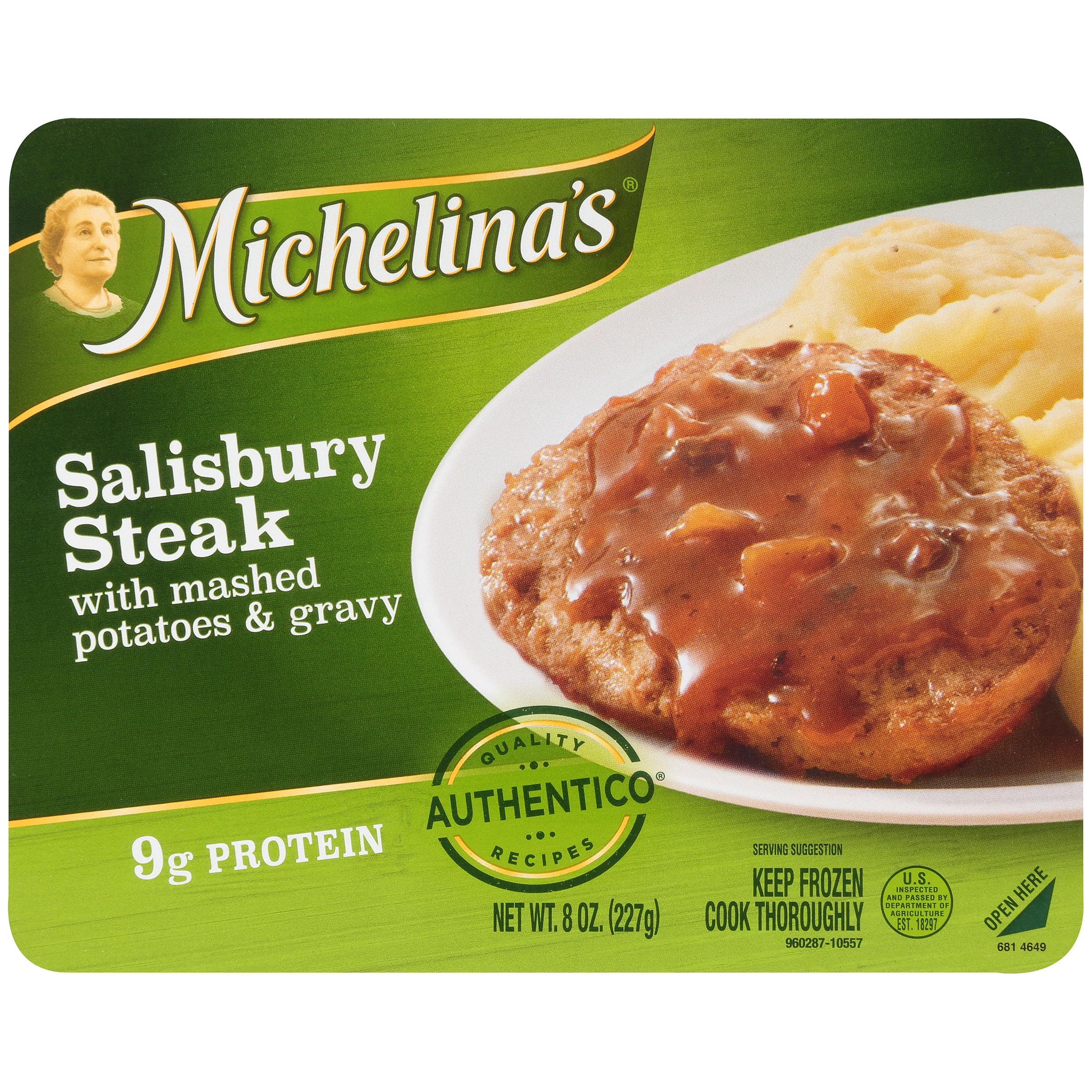 Michelina's�� Authentico�� Salisbury Steak 8 oz. Tray