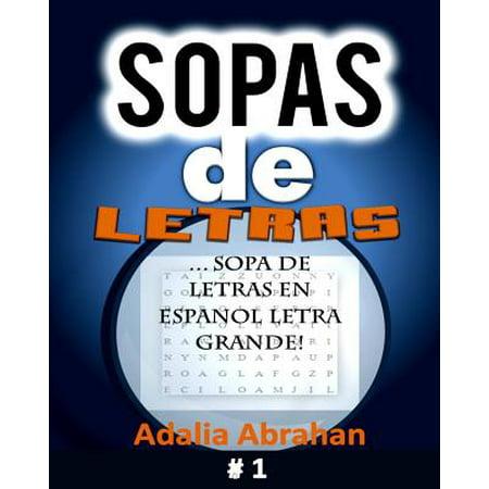 Sopas de Letras : Sopa de Letras En Espanol Letra Grande!](Musica De Halloween En Espanol)