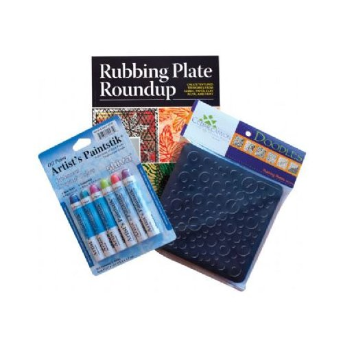 Cedar Canyon Textiles Rubbing Plate Sampler (Set of 6)