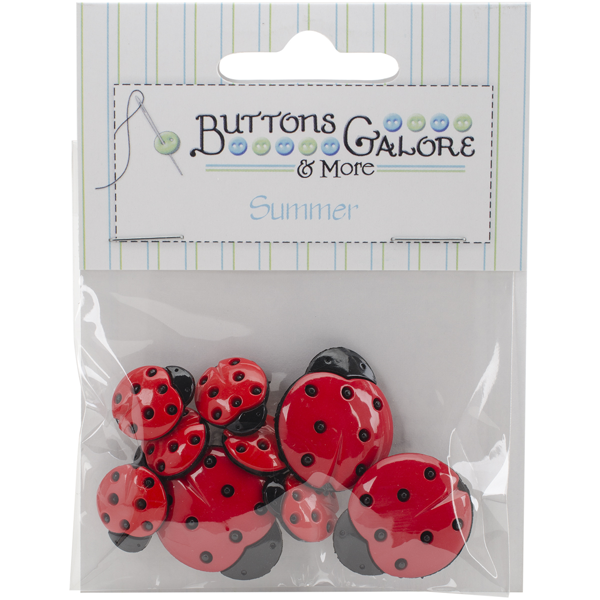 Button Theme Pack-Ladybugs