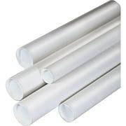 "3"" x 24"" Staples White Mailing Tubes 12/Box (11628) 558420"