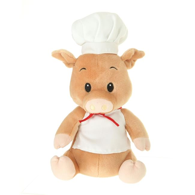 Giftable World A00036 10 in. Plush Pig Cook - image 1 of 1