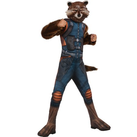 Guardians of the Galaxy Vol. 2 - Rocket Deluxe Child Costume (Galaxy Costume)