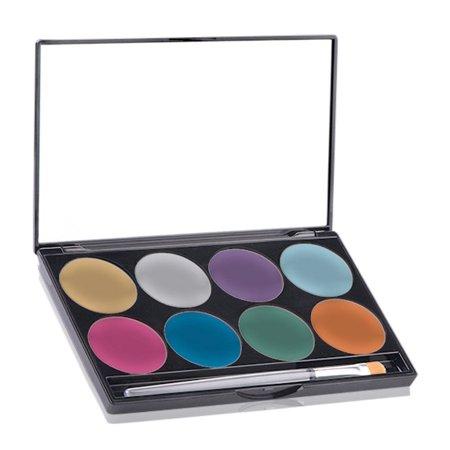 Paradise Makeup Aq 8 Color Palette (Brillant) (Paradise Makeup Aq)