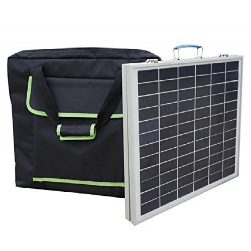 ECO 40 Watts 12 Volts Portable Foldable Polycrystalline S...