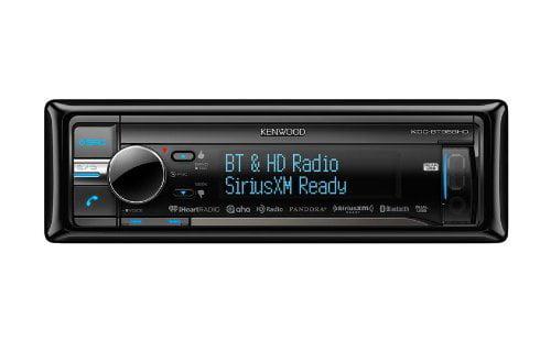Kenwood KDC-BT958HD Single-DIN Bluetooth Car Stereo w  HD Radio & SiriusXM Ready by Kenwood