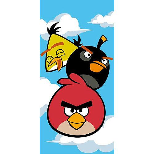 Rovio Angry Birds Uh Oh Beach Towel, Blue