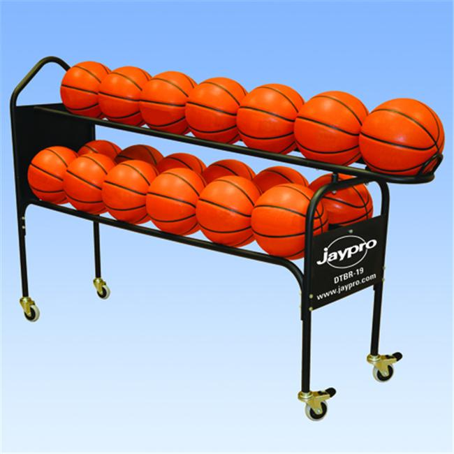 Jaypro Sports DTBR-19 Deluxe Training Ball Rack