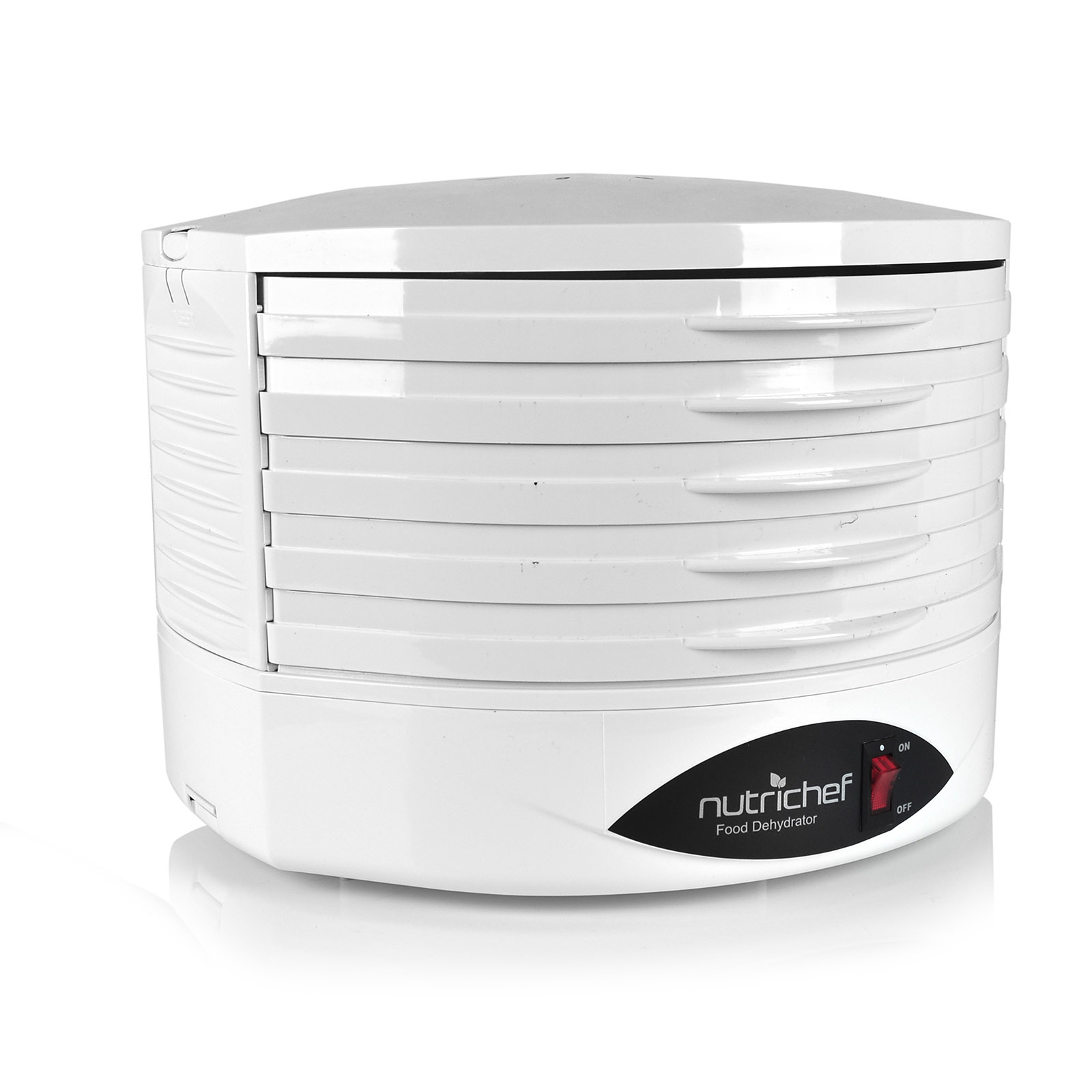 NutriChef Food Dehydrator - Electric Kitchen Dehydrator-White