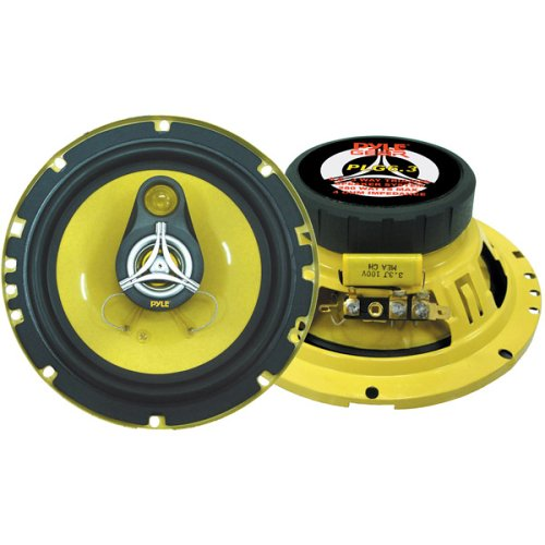 Pyle Drive Gear Plg63 Triaxial Speakers - 120w (rms) / 240w