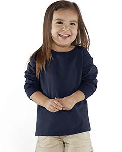 Rabbit Skins Drop Ship Toddler Long-Sleeve FineJersey T-Shirt