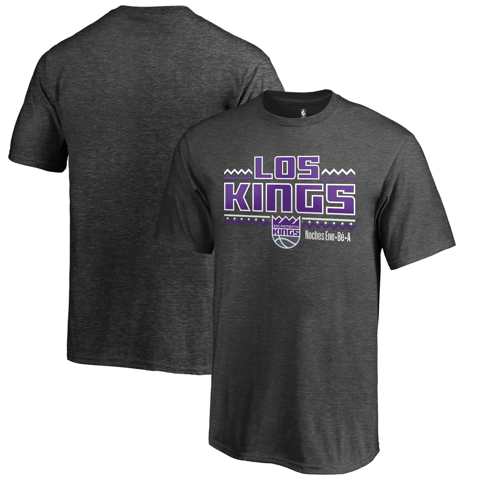 Sacramento Kings Fanatics Branded Youth Noches Ene-Be-A T-Shirt - Heather Gray