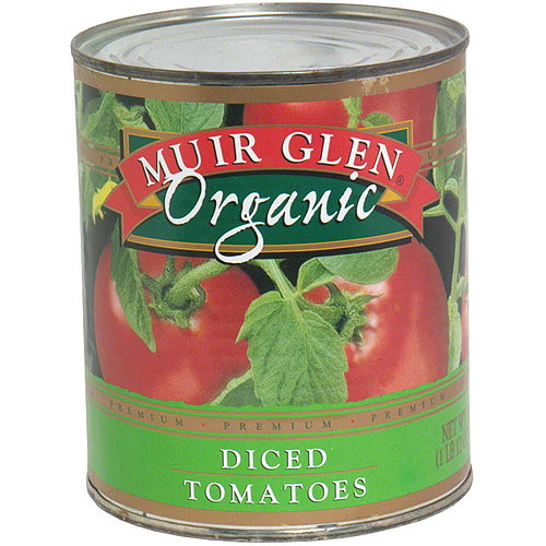 Muir Glen Organic Diced Tomatoes, 28 oz (Pack of 12)