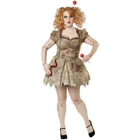 Voodoo Dolly Plus Size Costume - Voodoo Costume