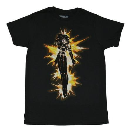 Dark Phoenix of the X-Men (Marvel) Mens T-Shirt - Purified By Fire