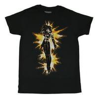 Dark Phoenix of the X-Men (Marvel) Mens T-Shirt - Purified By Fire (Medium)